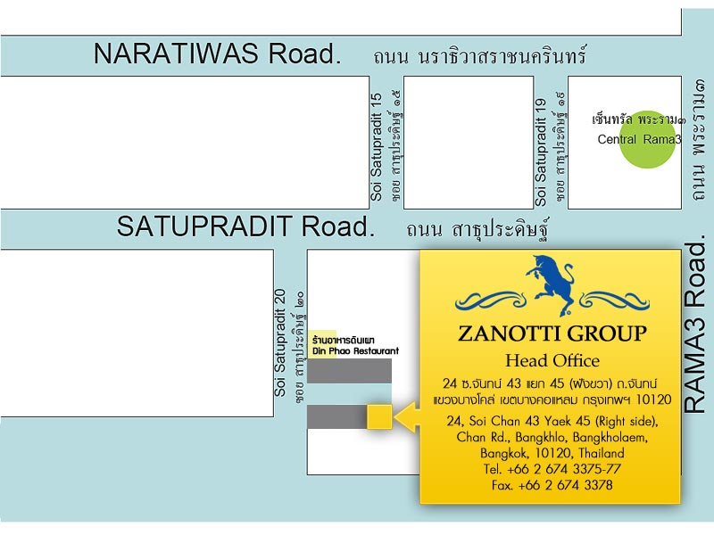 Map of Zanotti Group